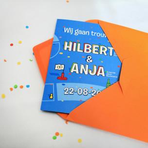 Trouwkaart H&A 4