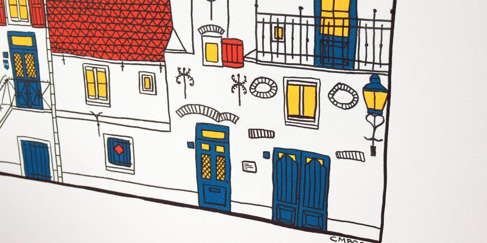 foto's Muurhuizen 33 – Het Gasthuys schilderij 5 (detail)