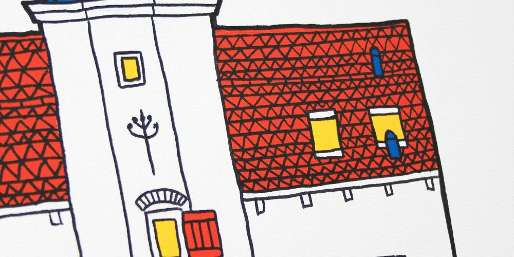 foto's Muurhuizen 33 – Het Gasthuys schilderij 9 (detail)
