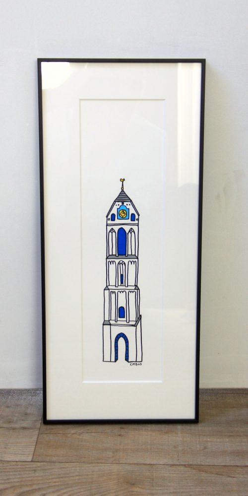 Rieky torens in lijst 3