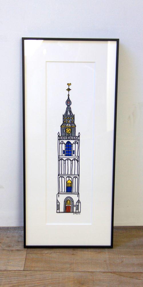 Rieky torens in lijst 4
