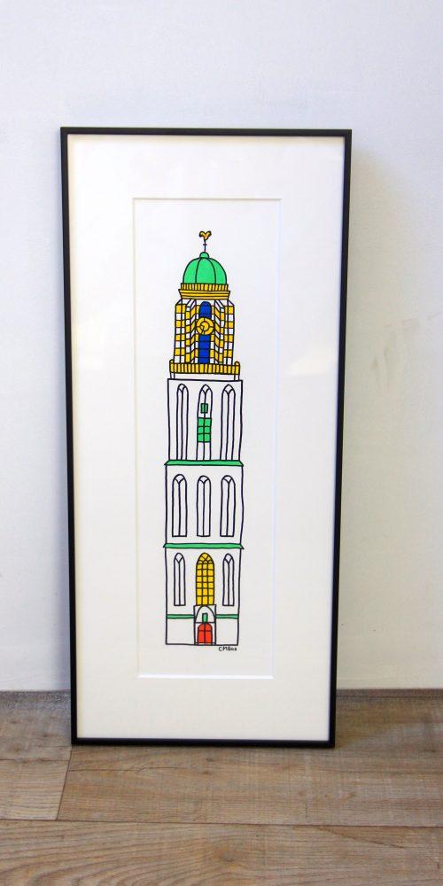 Rieky torens in lijst 5